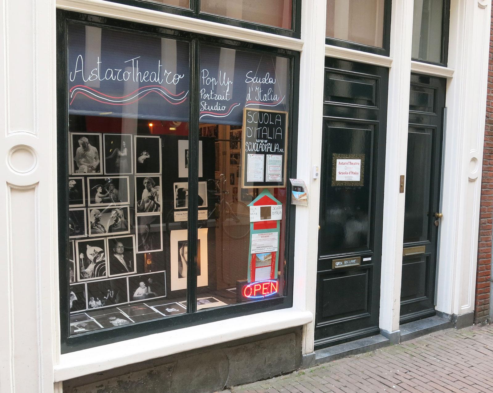 Scuola d'Italia - Sint Jansstraat 37 Amsterdam