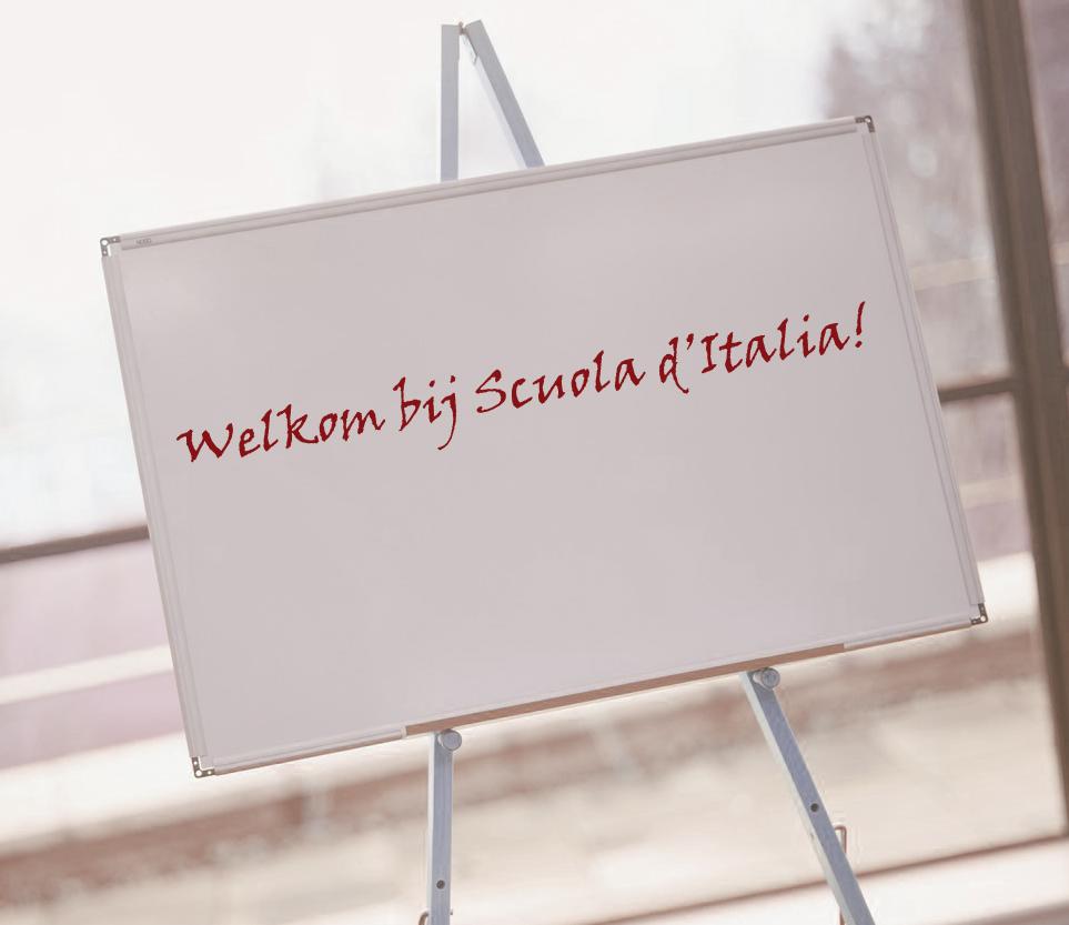 Welkom bij Scuola d'Italia!